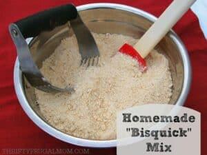 """Homemade """"Bisquick"""" Mix"""