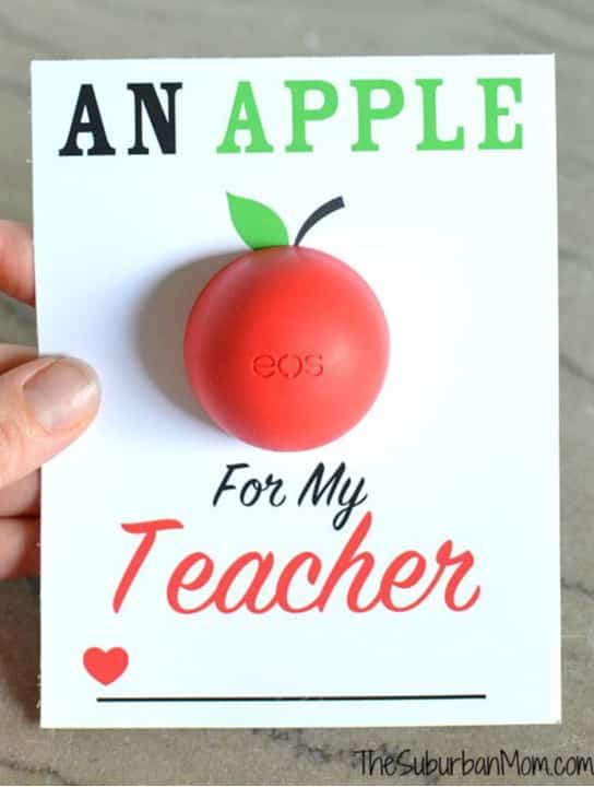 apple for cheap end of year teacher gift