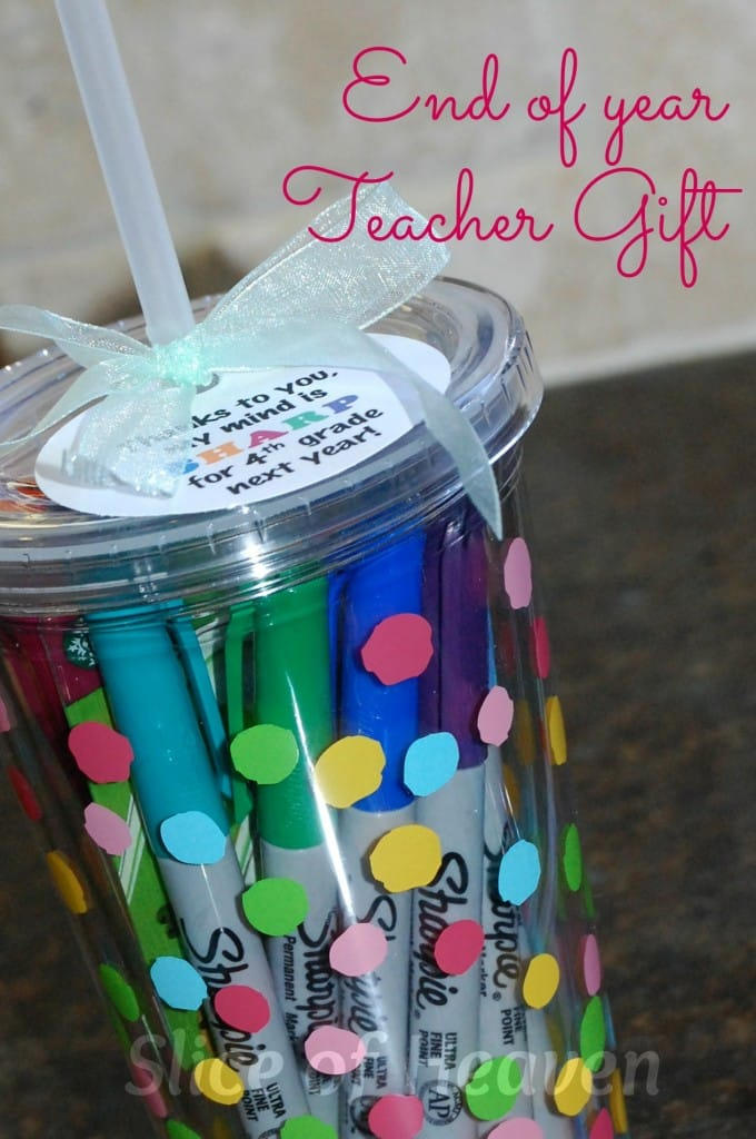 Classroom Keepsake Ideas ~ Fun inexpensive teacher gifts