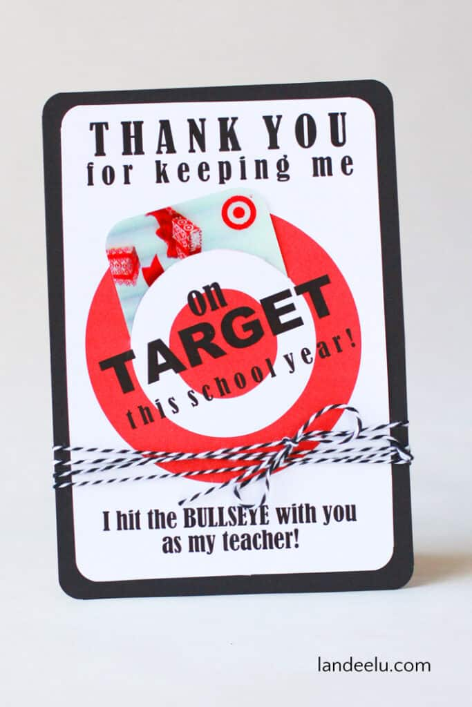 Frugal Teacher Gift Ideas