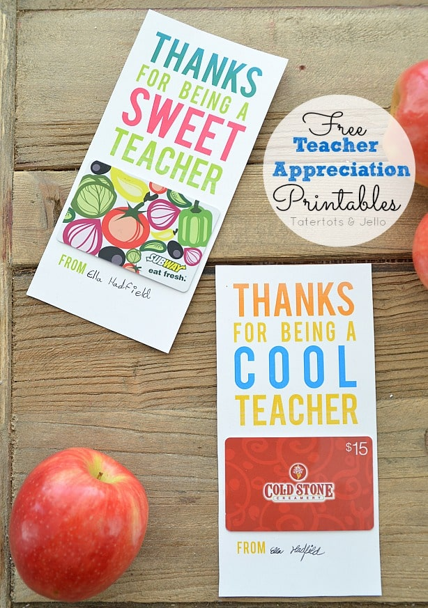 15 Fun Inexpensive Teacher Gifts