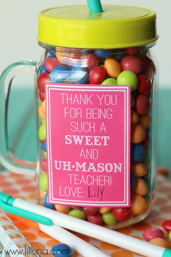 cheap teacher appreciation gift ideas