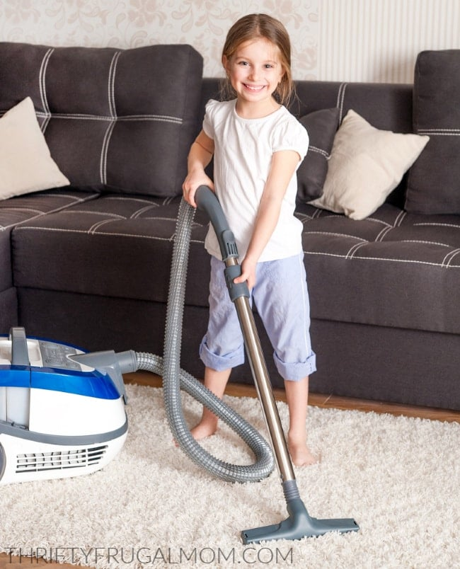 chores for 4 year olds