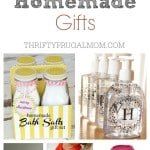 20 Inexpensive Homemade Gift Ideas