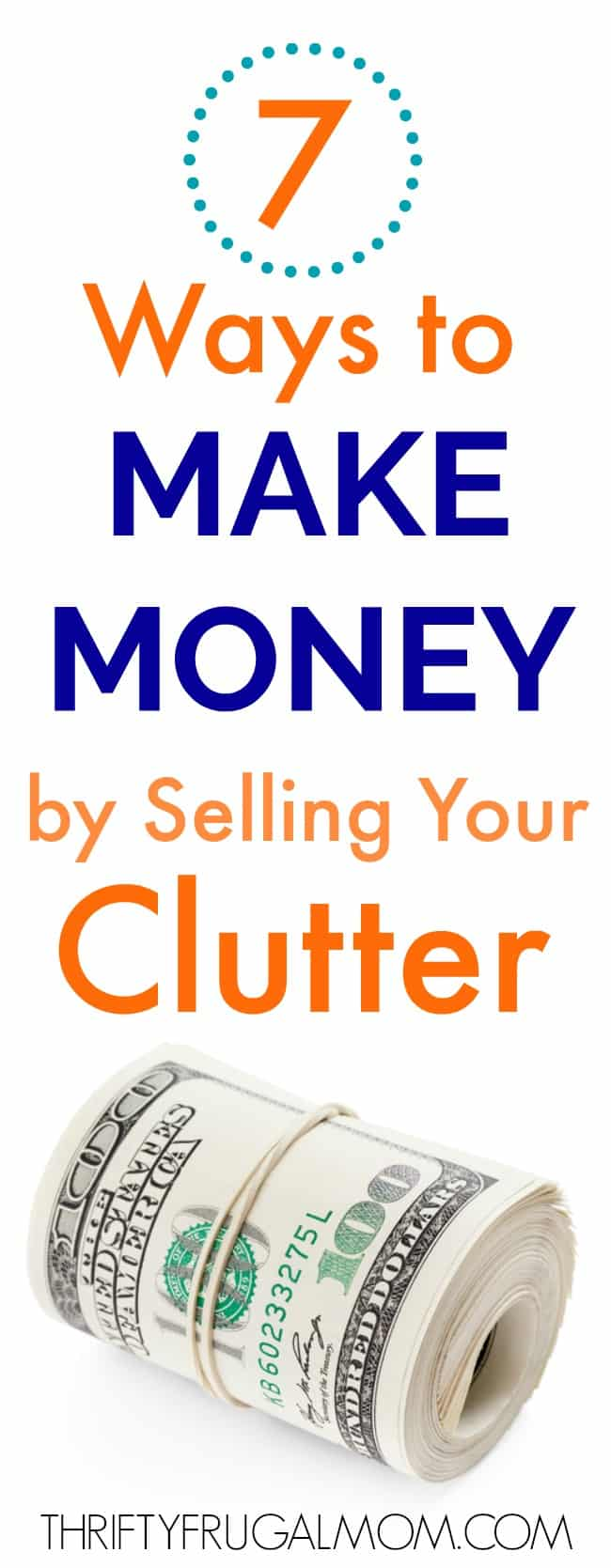 make money by selling clutter