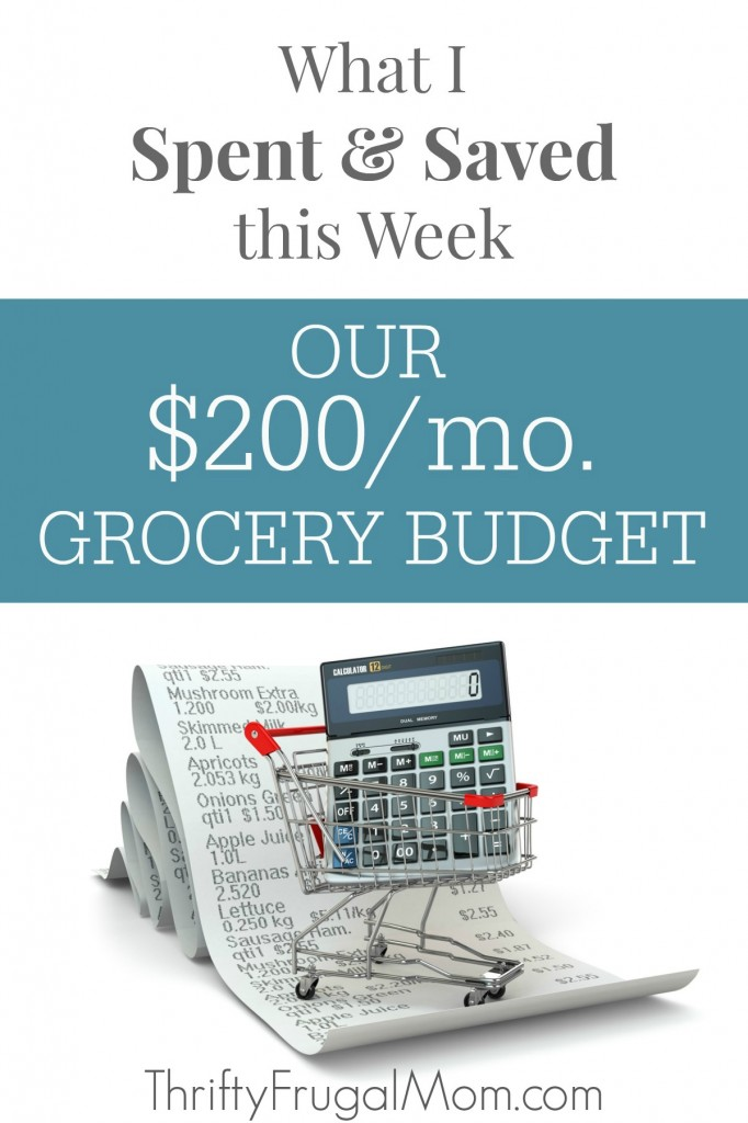 See the details of my $200 a month grocery shopping trips and learn the things that I do to save and live well on a low budget with my family of five!