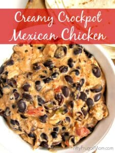 Creamy Crockpot Mexican Chicken