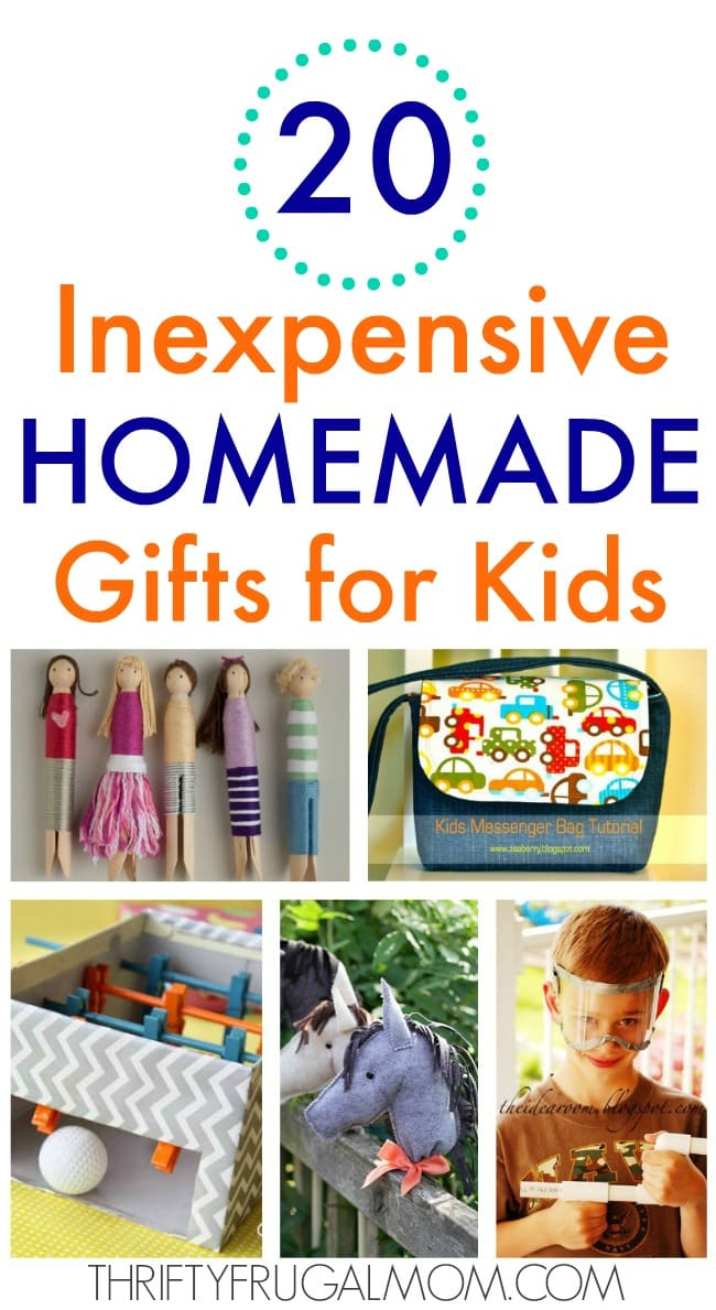 A Fun Collection Of Easy To Make Homemade Gifts For Kids Will Not Only Save You