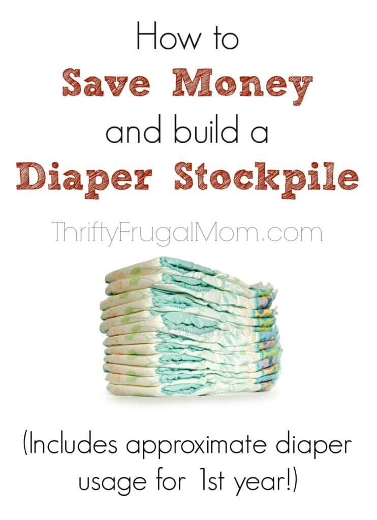 how to build a diaper stockpile
