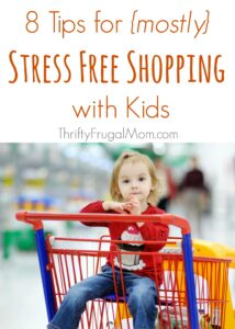 8 Tips for {mostly} Stress Free Shopping with Kids