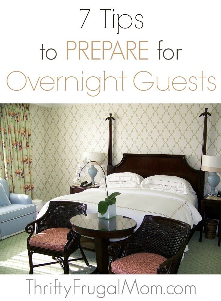 Anyone else feel overwhelmed when it comes to making your guests feel welcome? Why not try these easy tips to make your guests feel right at home!