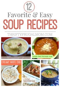 12 Easy Favorite Soup Recipes