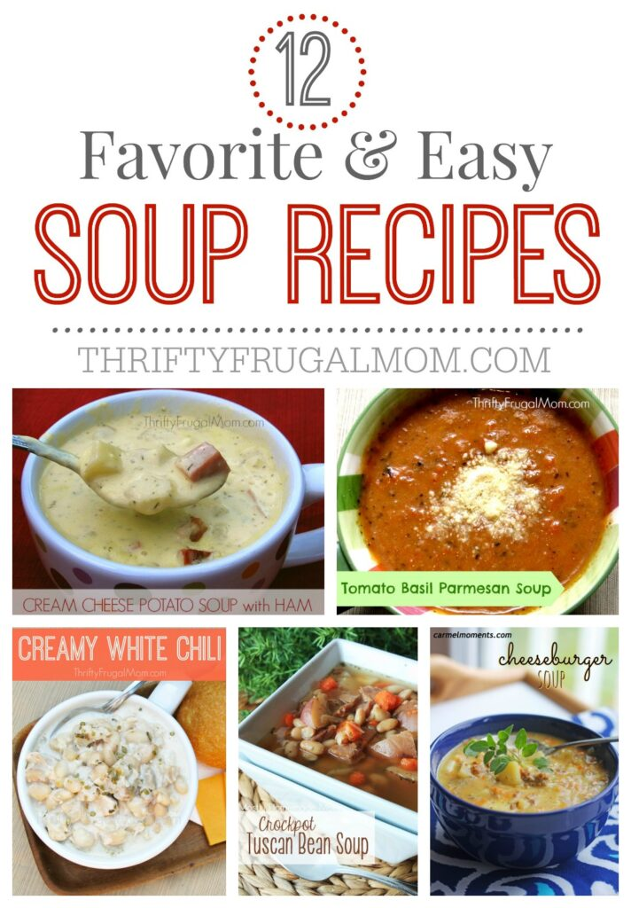 favorite easy soup recipes