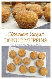 Cinnamon Sugar Donut Muffins