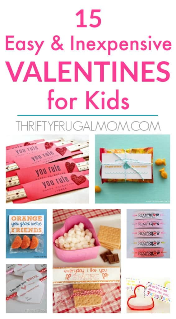 easy and cheap Valentines for Kids