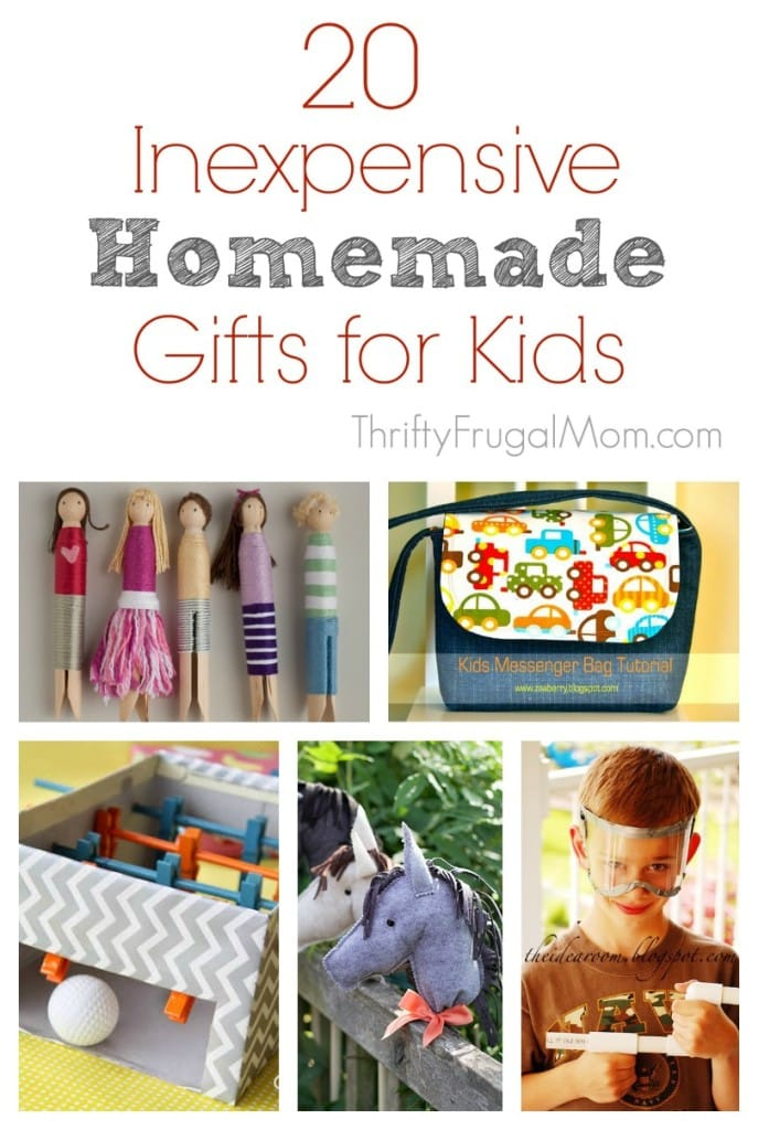 Homemade Gifts for Kids