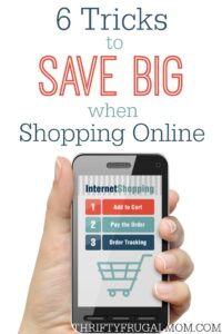 6 Tricks to Save Big when Shopping Online