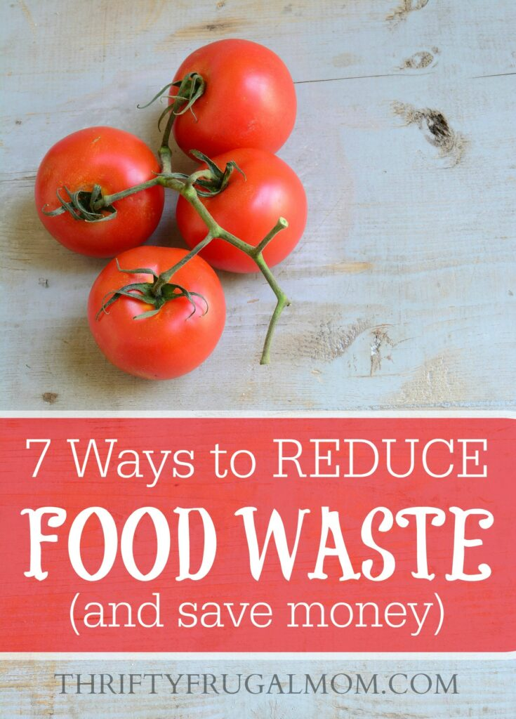 Throwing food away is like throwing money in the garbage! Thankfully, by following these tips you can reduce the amount of food you waste and save money too!