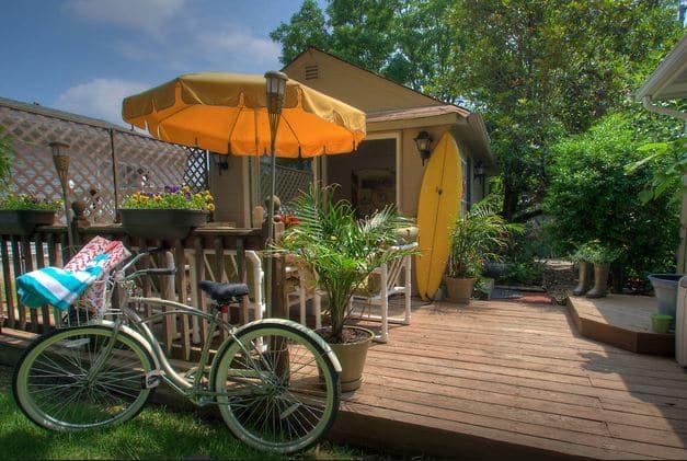 Beach getaway Airbnb vacation rental