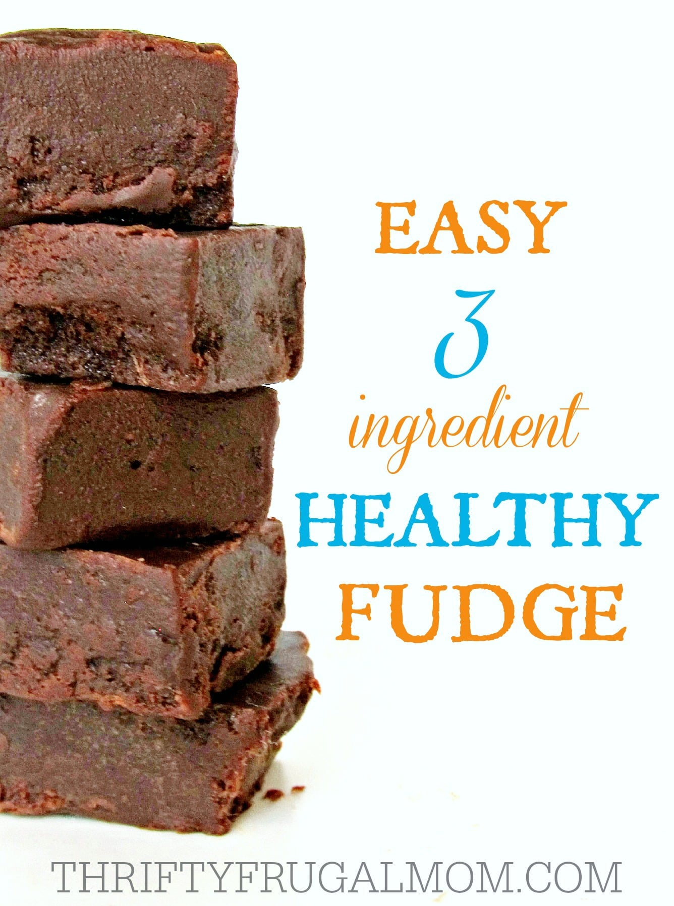 Easy 3 ingredient healthy fudge made with just coconut oil honey and cocoa powder this easy healthy fudge is forumfinder Gallery