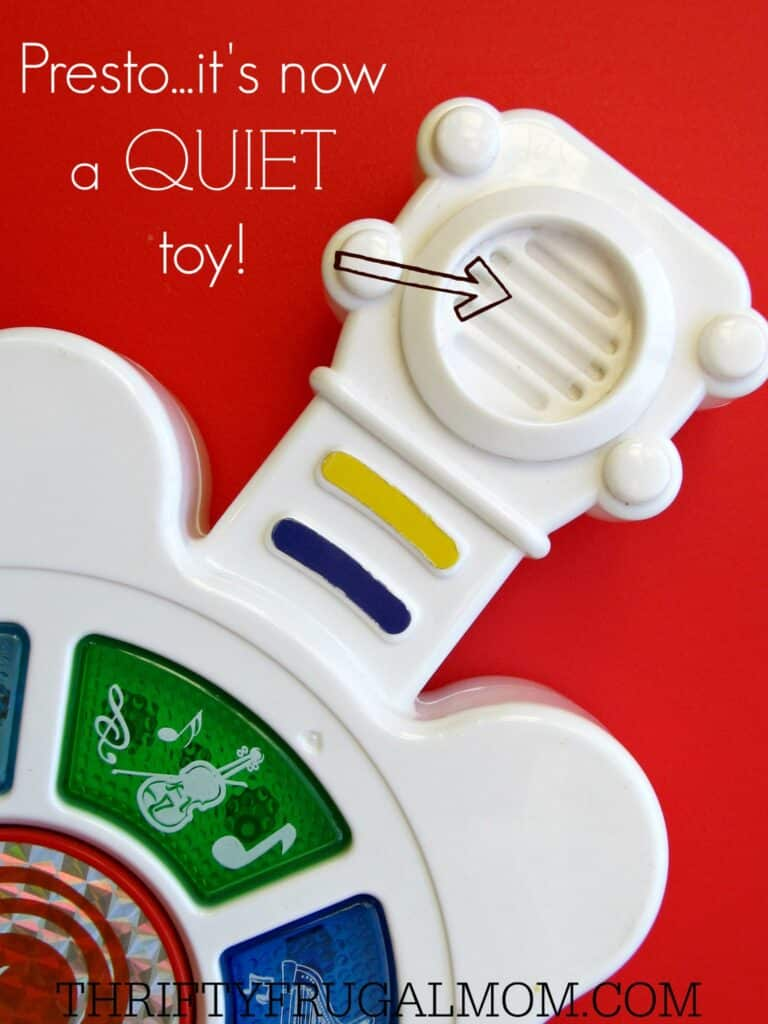 How to Quiet Loud Toys