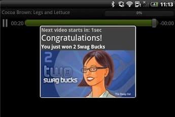 Swagbucks TV Mobile money saving app