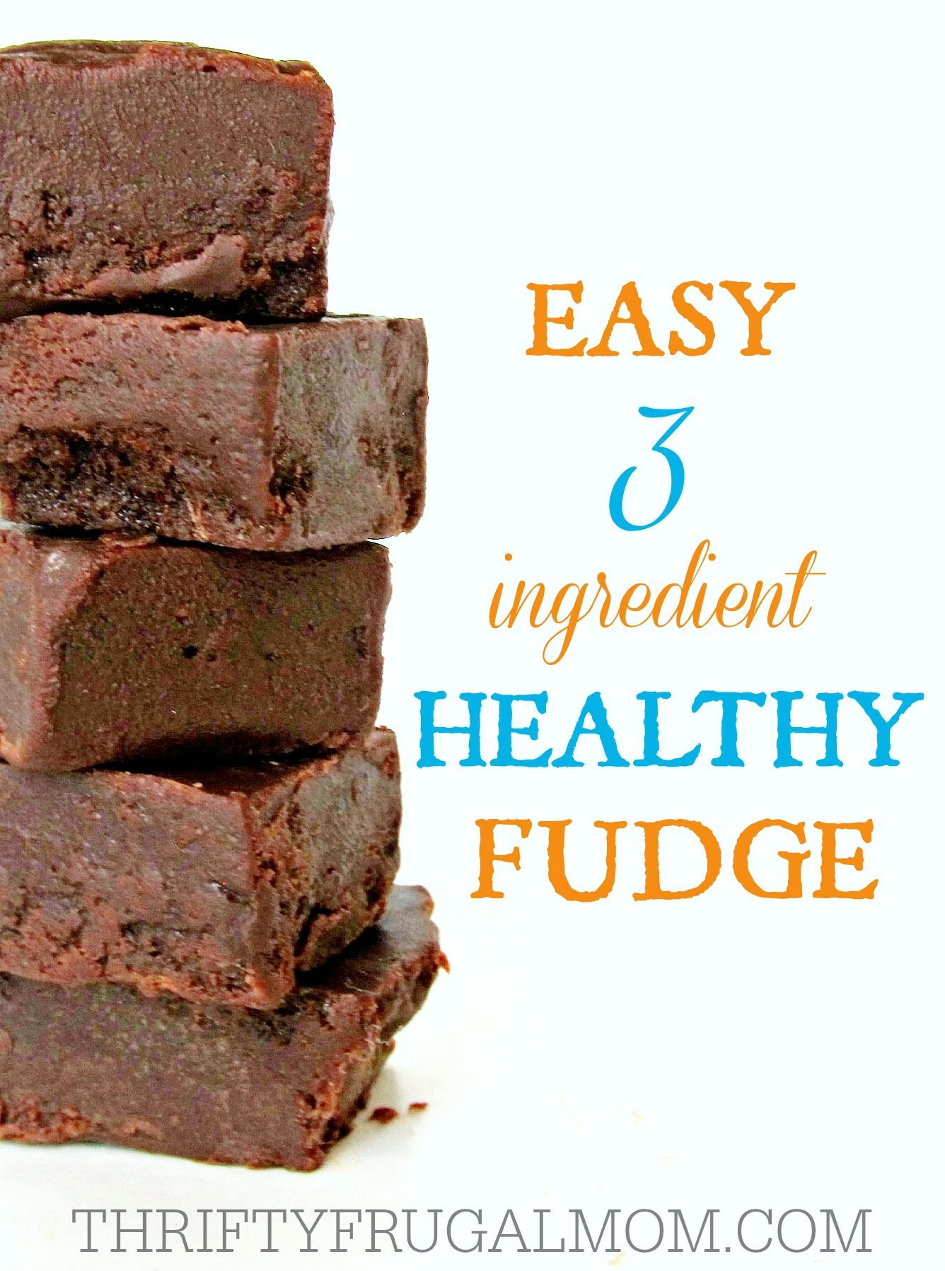 Made with just coconut oil, honey and cocoa powder, this easy healthy fudge is a wholesome snack you can feel good about eating!  And hey, it's even chocolate!