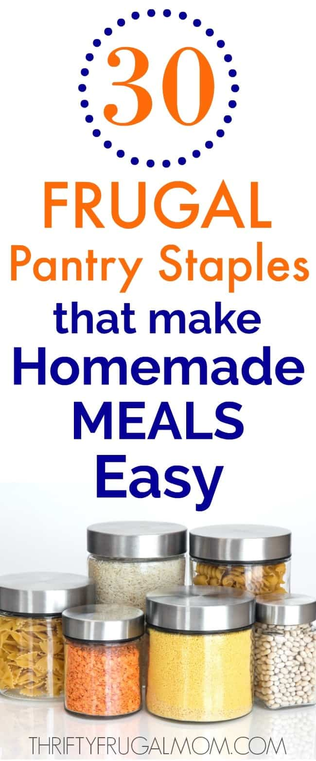 frugal foods that make homemade meals easy