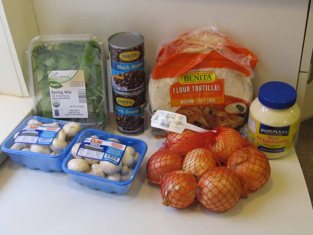 $200 grocery budget family of 5