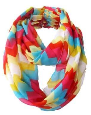 Chevron Bold scarf under $10