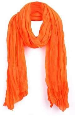 Solid color scarf under $10
