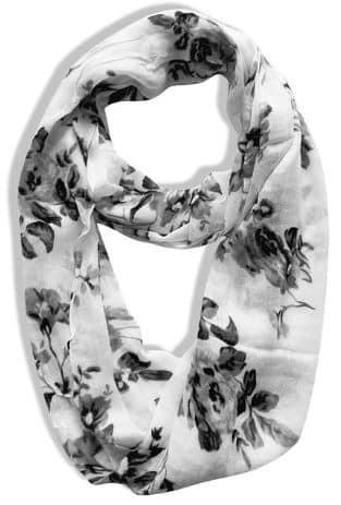 Vintage floral scarf under $10