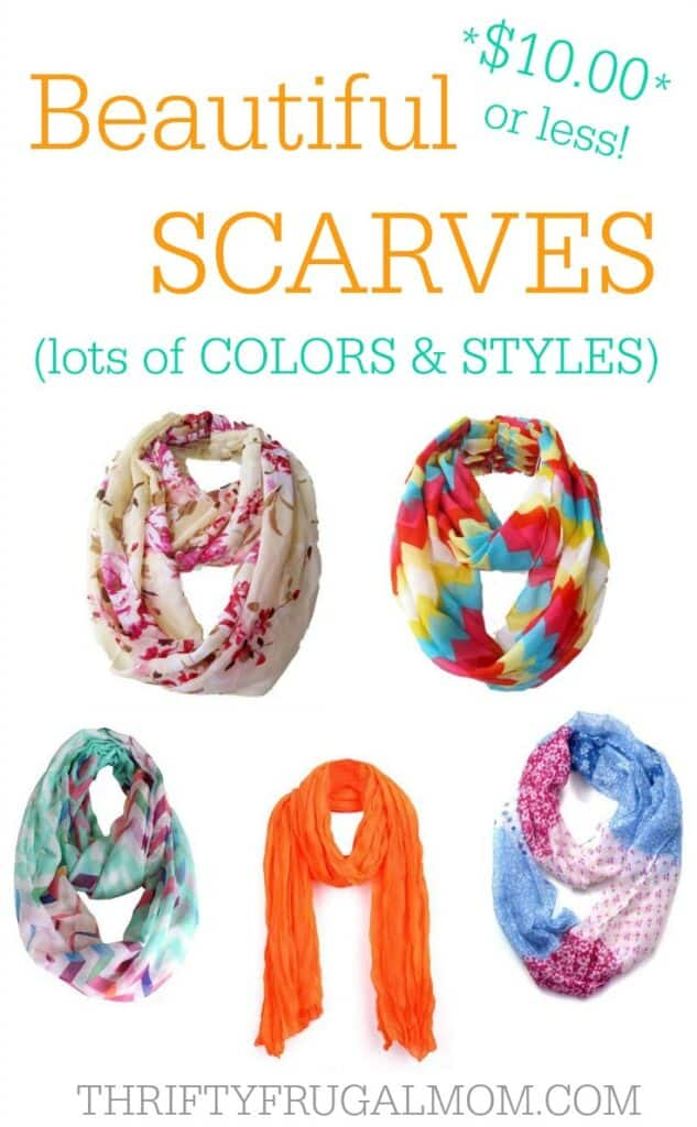 Cheap Scarves $10 or less