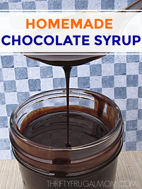 easy chocolate syrup recipe
