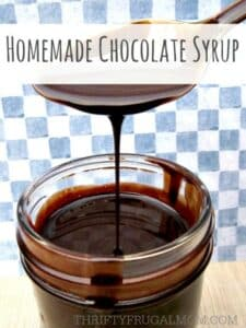 Super Easy Homemade Chocolate Syrup