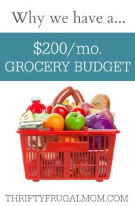 Our $200 Grocery Budget: Why We Do It {a series}