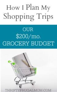 Our $200 Grocery Budget: How I Plan my Deal Shopping Trips