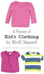 Thred Up: $20 Off Your 1st Order = 4 Items of Kid's Clothing for $6.42 Shipped!