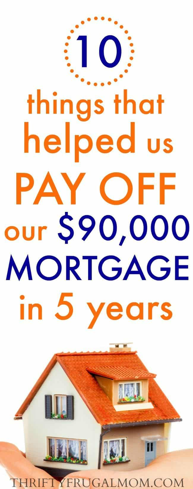 pay off mortgage fast