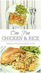 One Pan Chicken & Rice