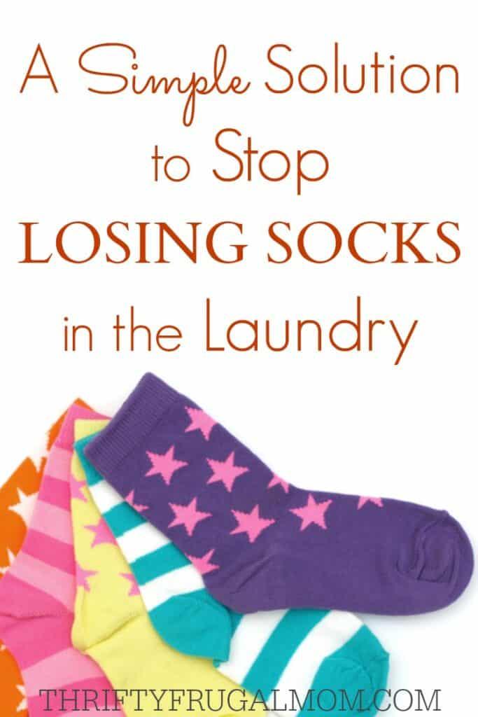 Stop Losing Socks in Laundry Solution