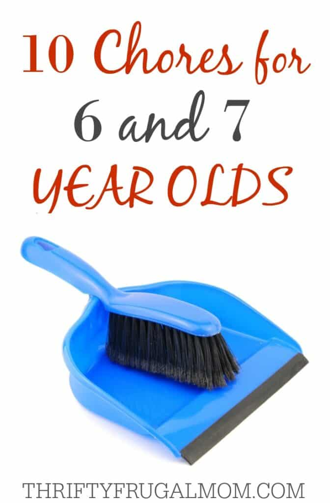 Chores for 6 & 7 Year old