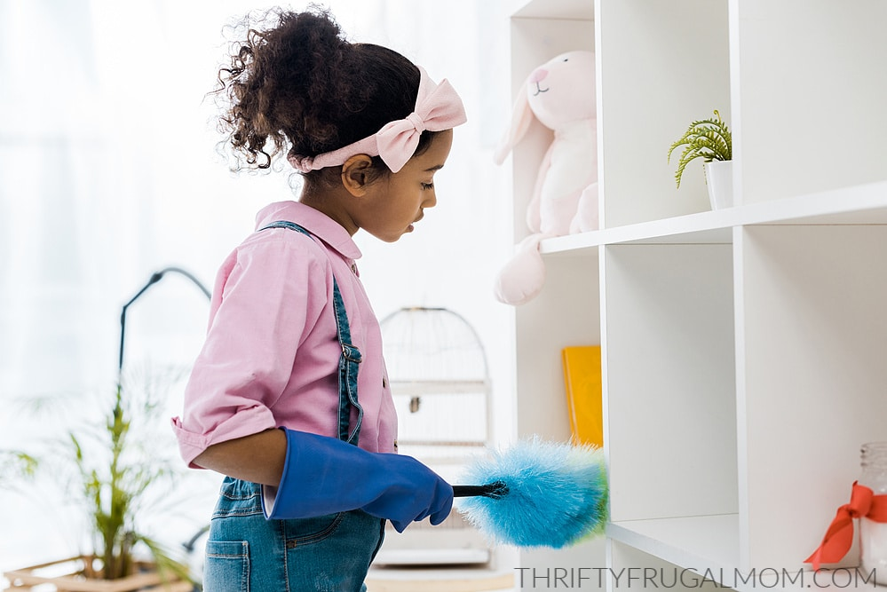 Chores for 7 year old child