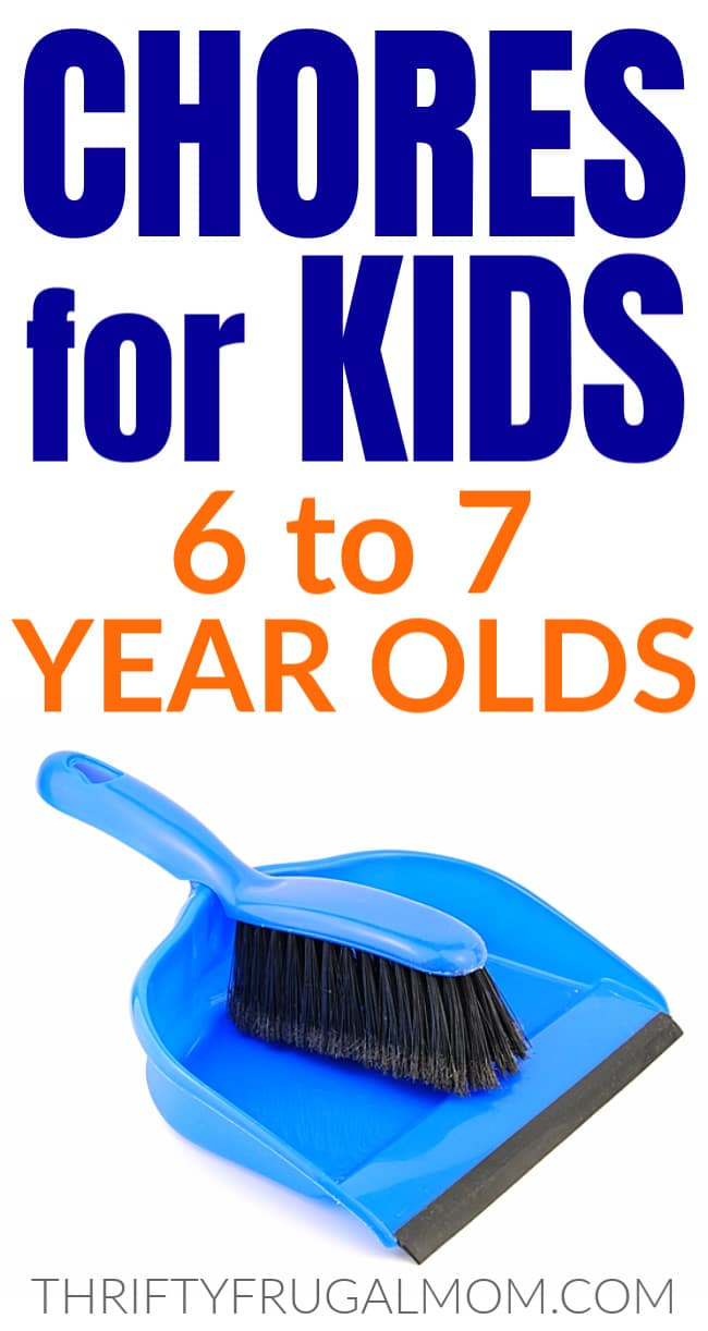 chores for 6 and 7 year old kids
