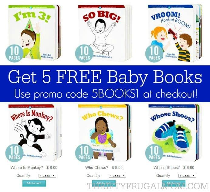 Babsy- 5 Free Baby Books