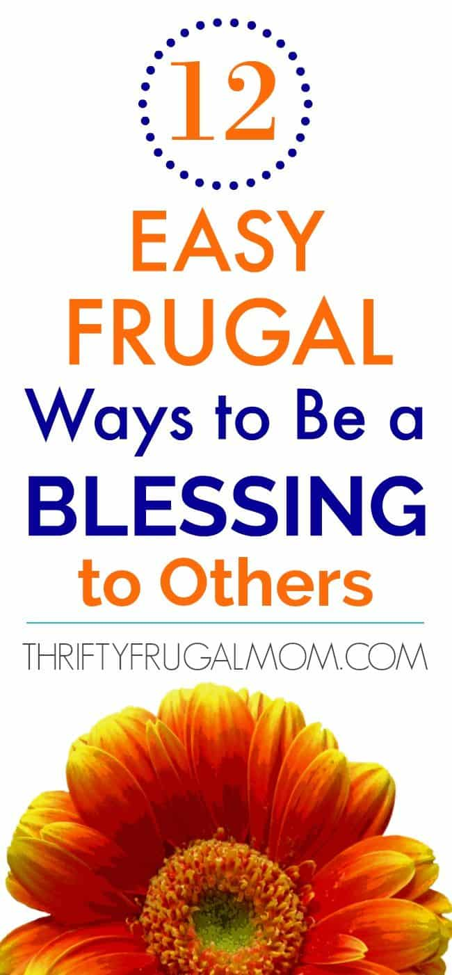 Easy ways to be a blessing to others