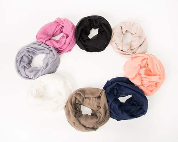 Scarves Solid Colored Cheap
