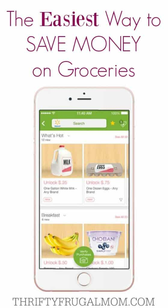 Ibotta App- the easiest way to save money on your grocery bill