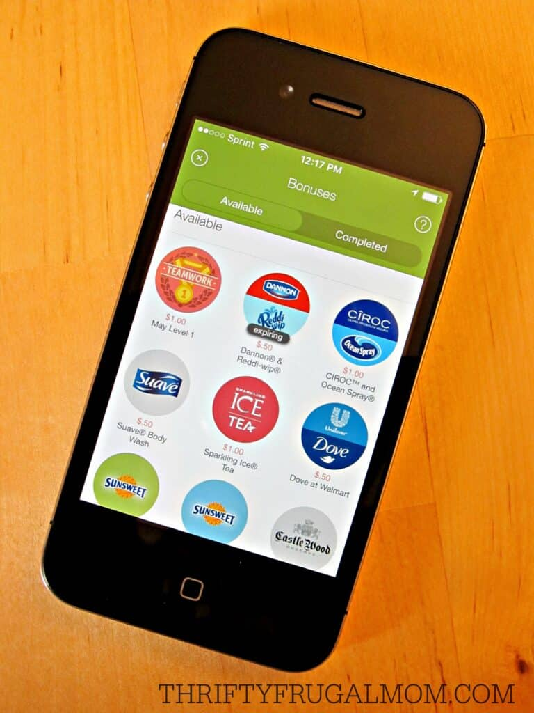 Ibotta app (bonuses)- save money on groceries