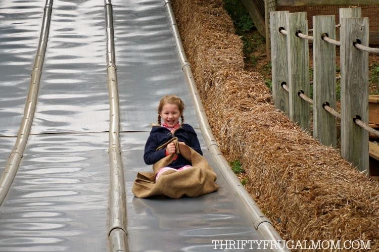 cherry-crest-adventure-farm-slide-girl